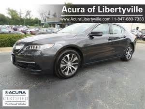 Certified Preowned Acura Certified Pre Owned 2015 Acura Tlx 4d Sedan In