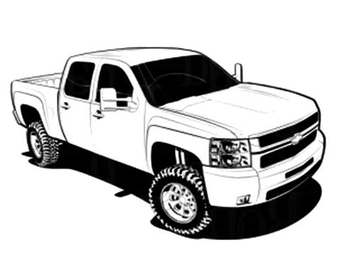 coloring pages cars and trucks chevy truck coloring pages freecoloring4u