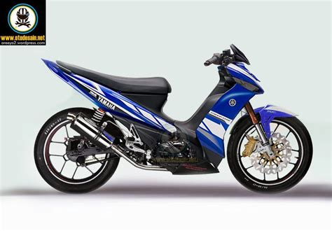 Modifikasi Yamaha Zr Drag by Modifikasi Motor Zr Gambar Modif Yamaha Zr