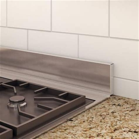 inoxia backsplashes dado real stainless steel backsplash