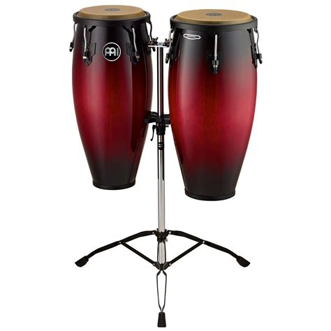 Meinl Headliner Series Conga Sets Maple meinl 10 quot 11 quot headliner series conga set in wine burst with stand hc888wrb