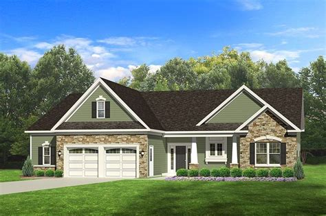 eplans ranch house plan ranch with 3 car garage 1635 square feet and 3 bedrooms from eplans 1000 images about new house plan ideas on pinterest