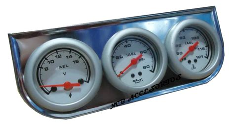 cadenas para nieve iael kit de relojes voltimetro temperatura agua aceite overcars