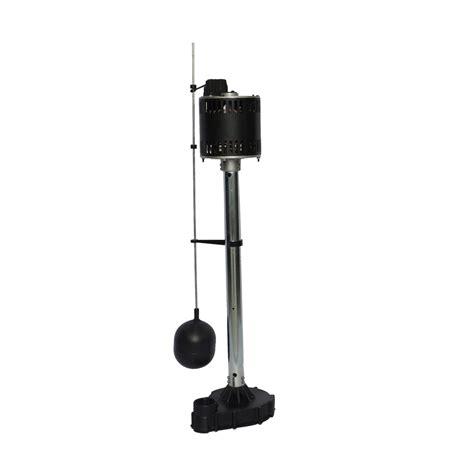 pedestal sump pump shop utilitech pro 0 5 hp cast iron pedestal sump pump at