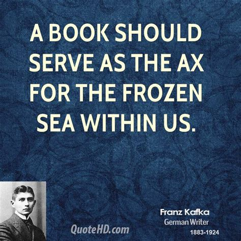 the ax book the kafka book quotes quotesgram
