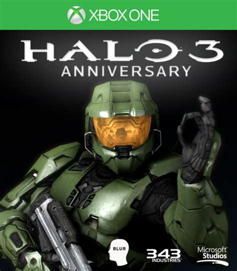 Home Design Games For Xbox 360 Halo 3 Anniversary Xbox One Box Art Cover By Citrus