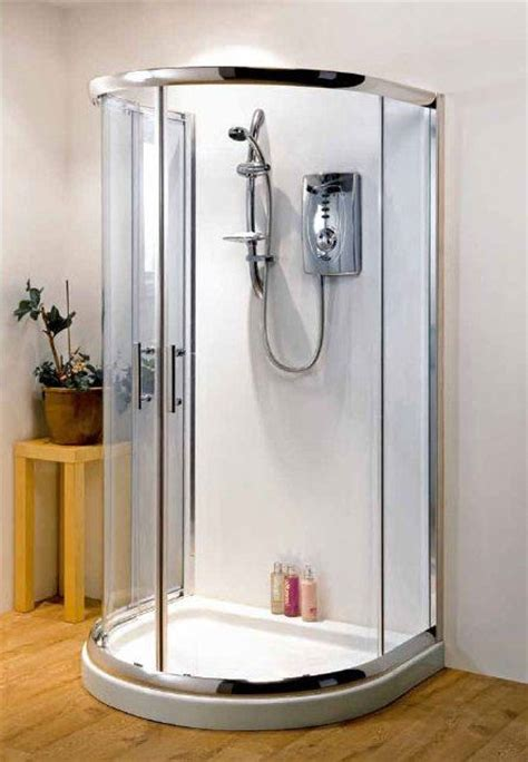 Free Standing Shower Stall Kit by Pacific D Shaped Shower Enclosure 1030mm X 900mm One Wall