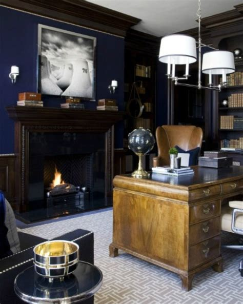 home decor ideas for men dramatic masculine home office design ideas for men