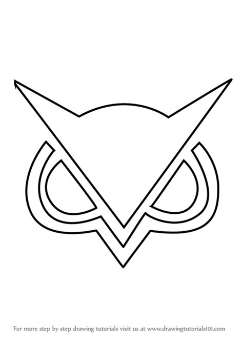 coloring pages of vanoss learn how to draw vanossgaming logo brand logos step by