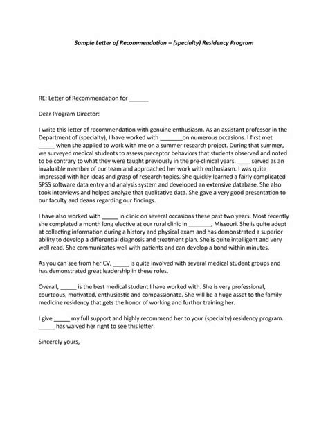 Leadership Endorsement Letter 43 Free Letter Of Recommendation Templates Sles