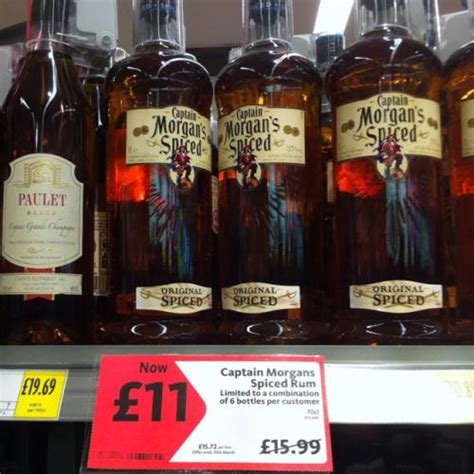 captain rum morrisons captain s spice rum morrisons 163 11 hotukdeals