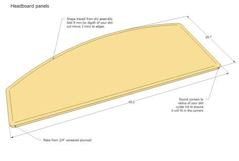 queen bed headboard plans queen size bed plans