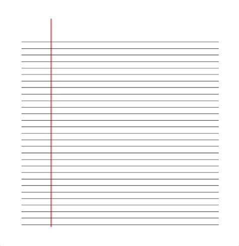 free printable lined chart paper 11 line paper templates free sle exle format