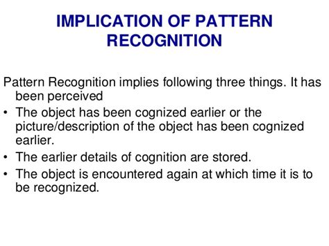 definition of pattern recognition in image processing pattern recognition and machine learning