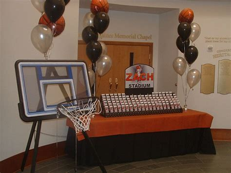 17 inspirational ideas for decorating basketball themed 17 best images about basketball bar mitzvah on pinterest