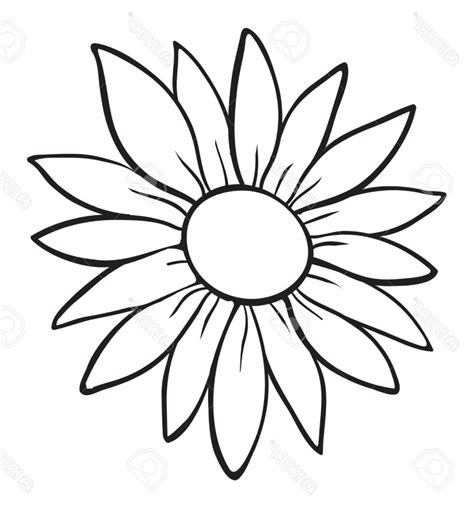 Flower Outline Drawing flower drawing outline drawing sketch library