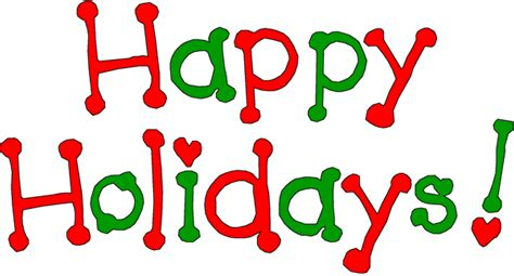 Word clipart happy holiday - Pencil and in color word ... Free Clip Art Christmas Words