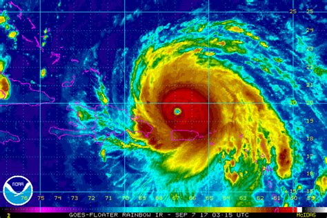 Bahamas Records Hurricane Irma Shatters Records