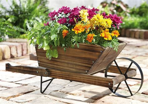 Rustic Wheelbarrow Planter by 404 Page Not Found