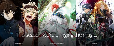 anime this season funimationnow fall 2017 simuldubs english casts