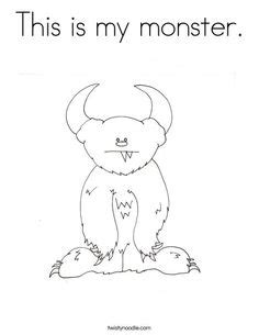 monster coloring pages preschool 1000 images about preschool monsters on pinterest felt