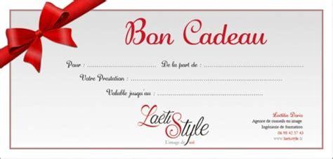 Modèle De Bon Cadeau