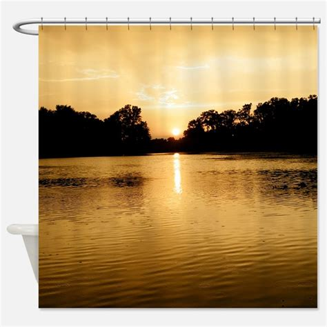 lake shower curtain fishing shower curtains fishing fabric shower curtain liner