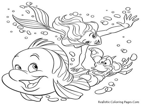 free coloring pages of under sea