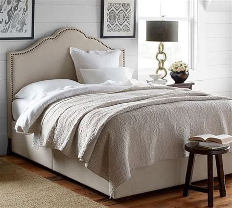 padded headboard with storage fallon upholstered headboard storage platform bed