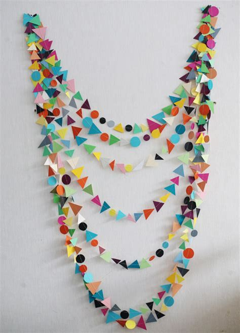 diy decorations garland diy able geometric garland curbly