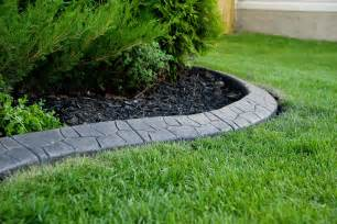 Landscape Edging Lawn Edging Concrete Curbing Calgary And Area Creative