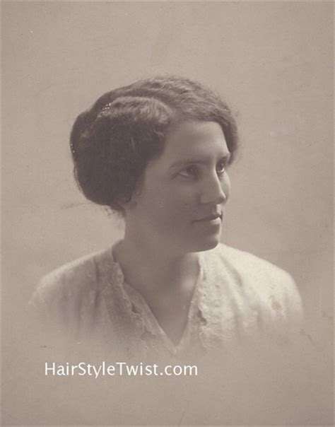 hair up 1900 hair up 1900 jonteel face cream 1900 via vintage ads