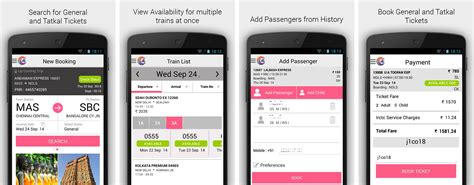 booking picture best android apps for indian railways travellers