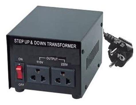 Step 220v Gt 110 V 100 Watt Merk Daiichi Penurun Tegan 1 110 120 to 220 240 volt european socket power converter 500 watt ebay