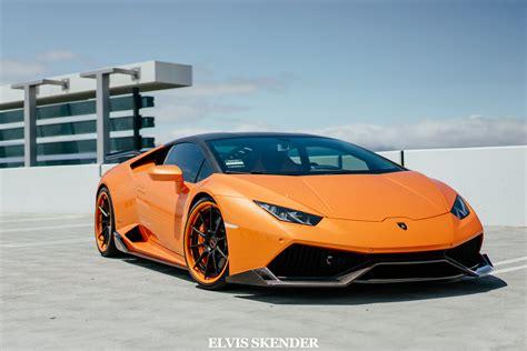 Lamborghini Orange Color Stunning Orange Lamborghini Huracan By 1016 Industries