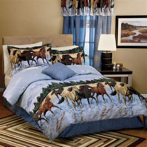 horse bedroom set newest domestications bedspreads home and bedroom design
