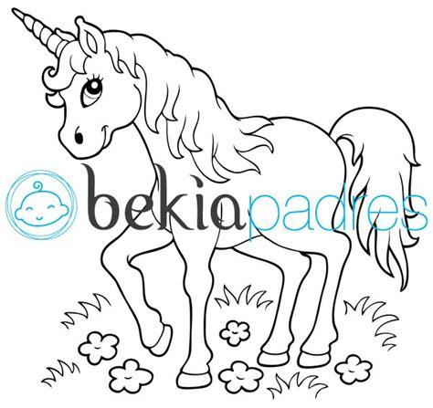 imagenes unicornios para dibujar unicornio dibujo para colorear