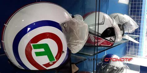 Helm Retro Fino Kt Motif V05 skutik retro identik dengan helm khusus kompas