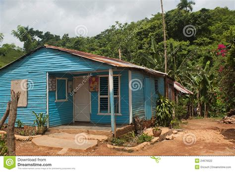 dominican house rural house near samana stock photo image of housing