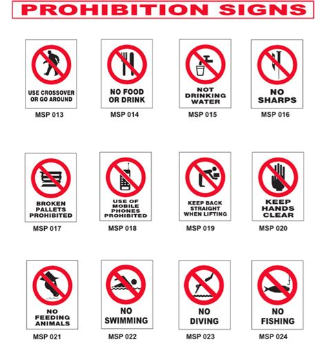 signs of an prohibition signs myne signs engraving