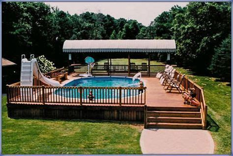 multi level  ground pool deck landscaping