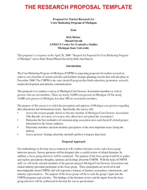 Phd Research Outline Template Business Letter Sle November 2012