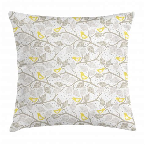 grey pillow cases grey throw pillow cases cushion covers ambesonne accent