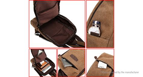 Canvas Sling Bag Unisex Bag 17 26 kabden unisex canvas backpack sling bag authentic at fasttech worldwide free shipping