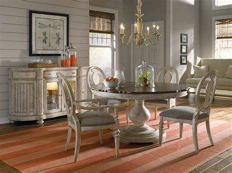 gorgeous dining rooms  circular tables housely