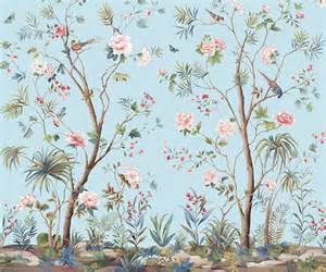 designing interiors with chinoiserie inspired wallpaper