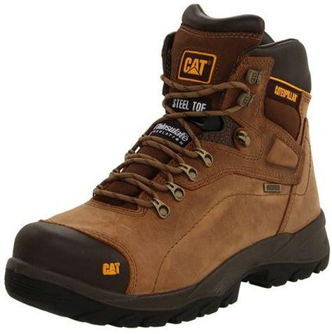 steel toe shoes for flat caterpillar men s diagnostic steel toe flat work