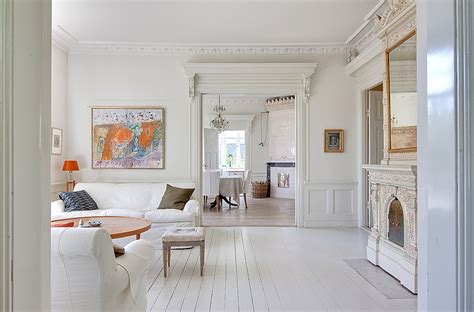 homes interior decoration images white villa in sweden 171 interior design files