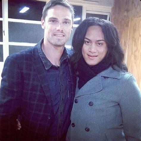 jay ryan and his girlfriend actor jay ryan and dianna fuemana tv stars