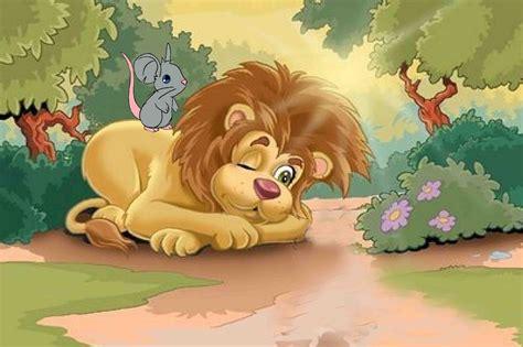 imagenes de leones y ratones nayl abracitos cuento el le 243 n y el rat 243 n agradecido